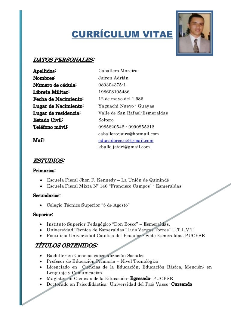 Curriculum vitae 2013