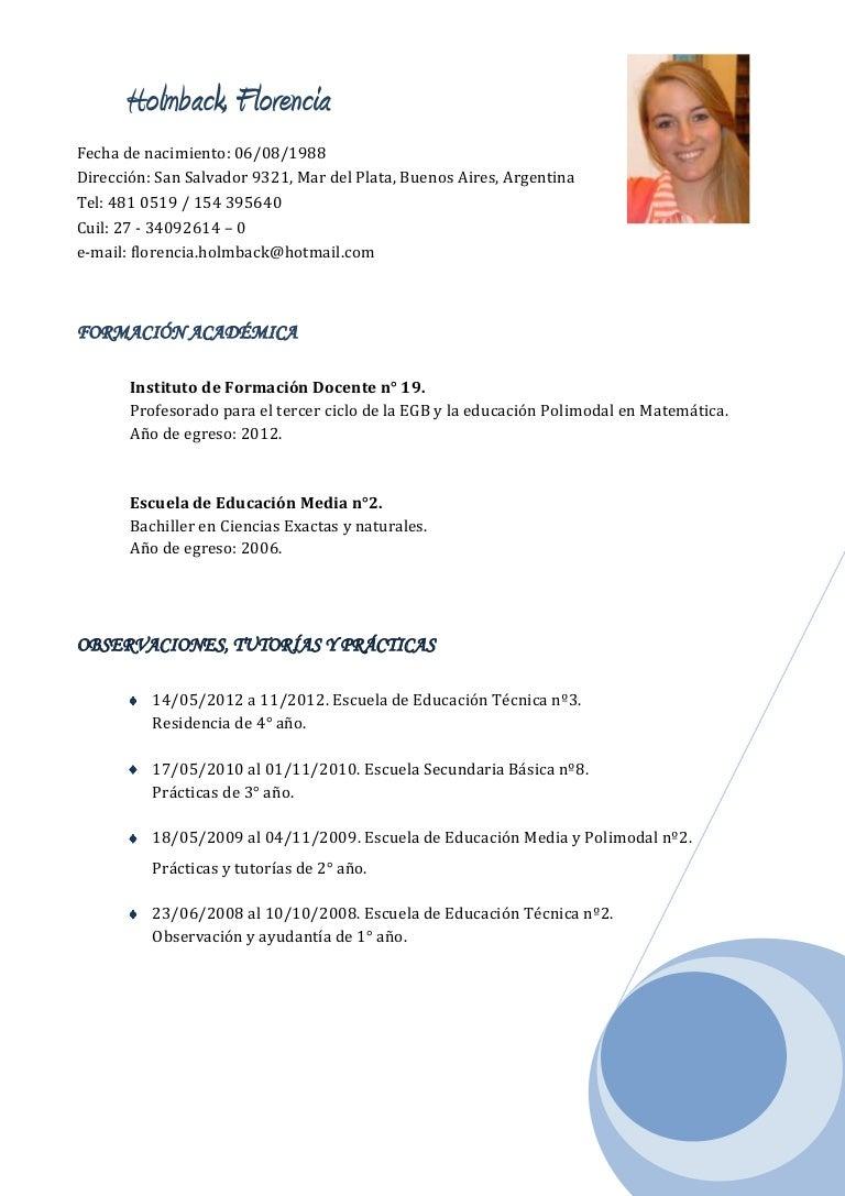 Encantador 4 Muestra De Currículum Básico Elaboración - Colección De ...