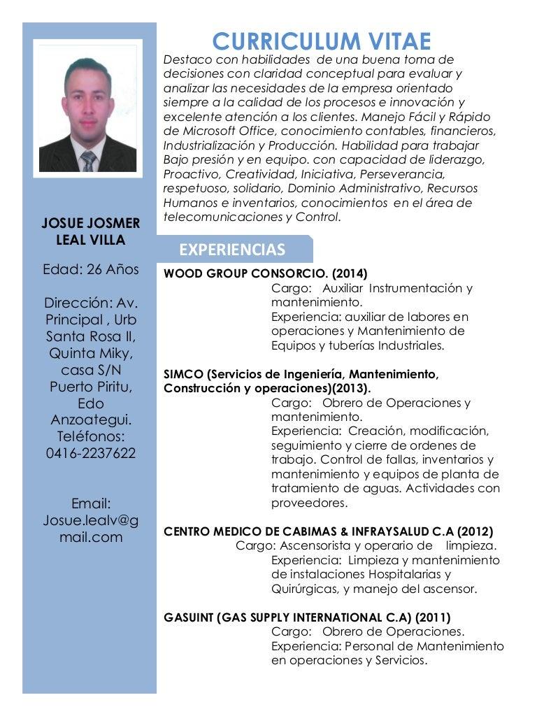 Increíble Muestra De Curriculum Vitae Del Maestro De Secundaria ...