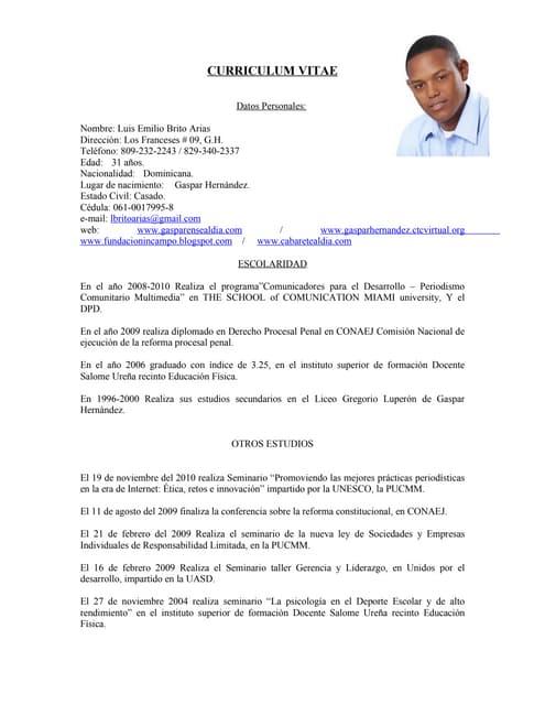 Curriculum Vitae 2014 F Cr