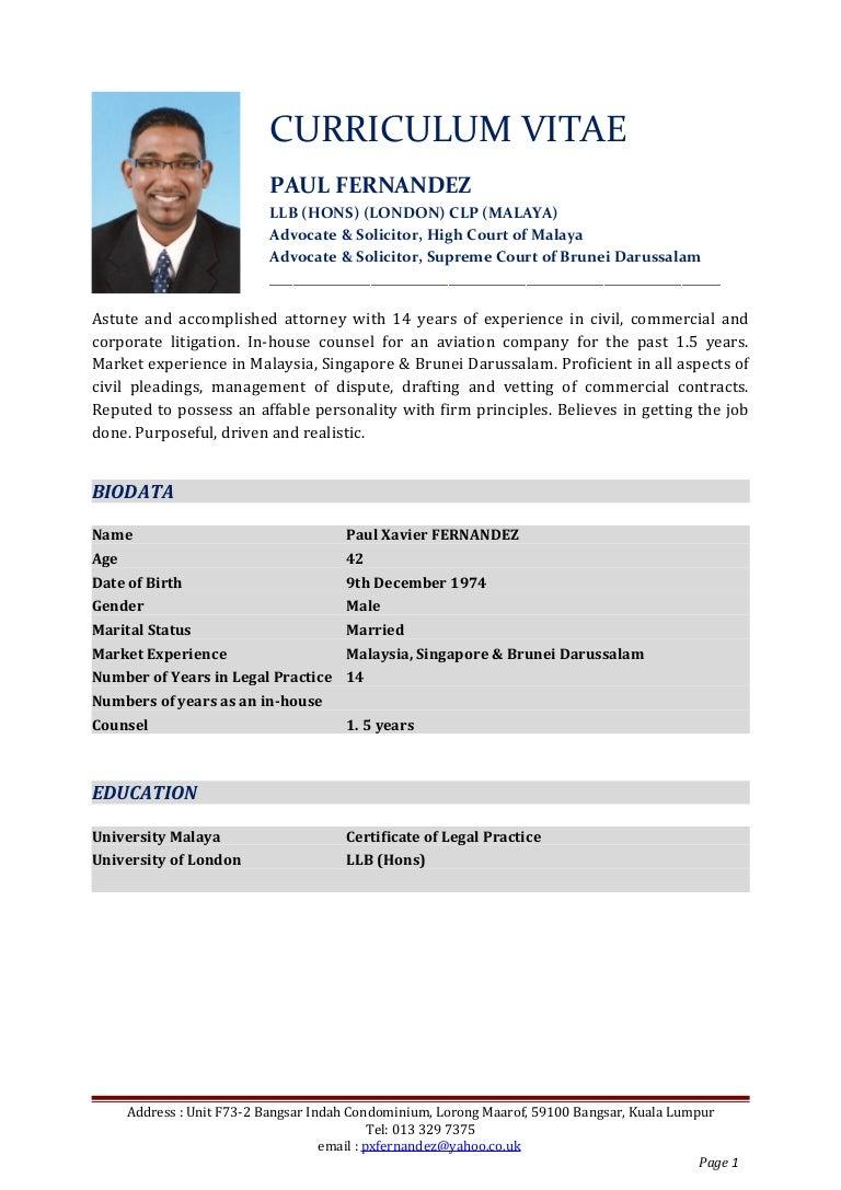 Curriculum vitae pxf 2016