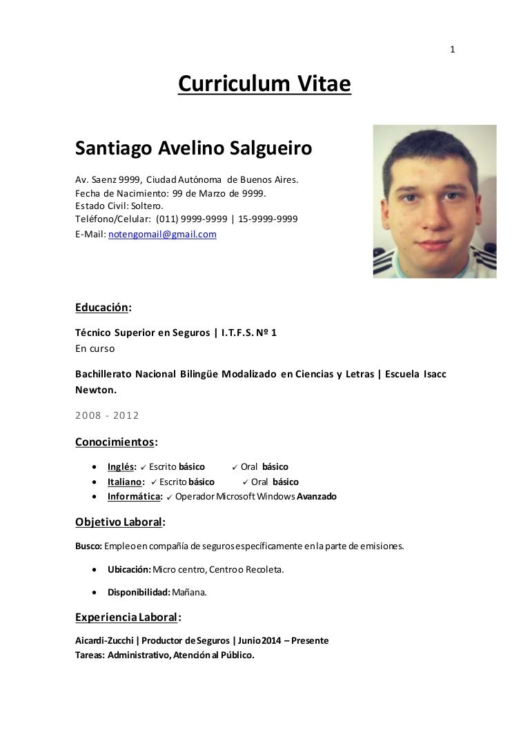 Curriculum vitae santiago a. salgueiro
