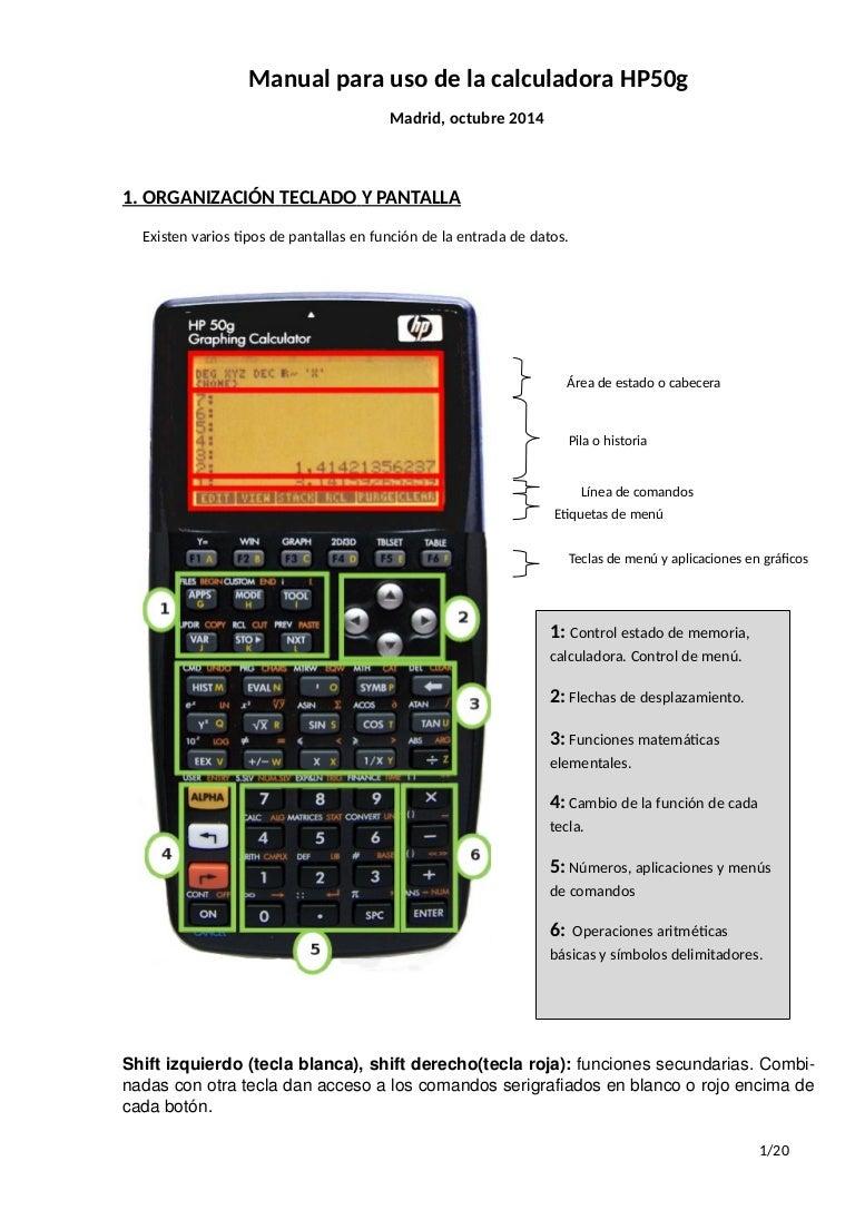 Curso calculadora hp oct15