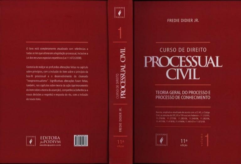 Curso de direito processual civil fredie didier jr.