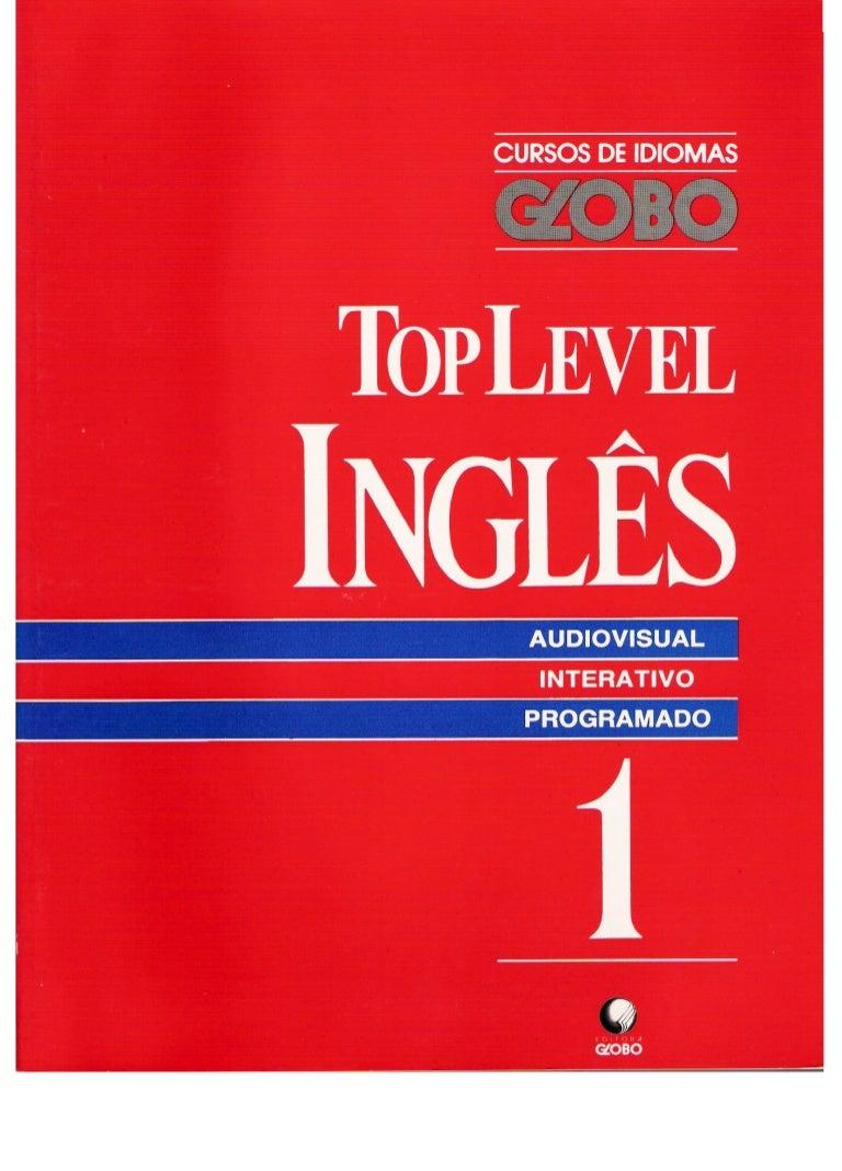 990b4c42403 Curso de idiomas globo ingles top level - livro 01