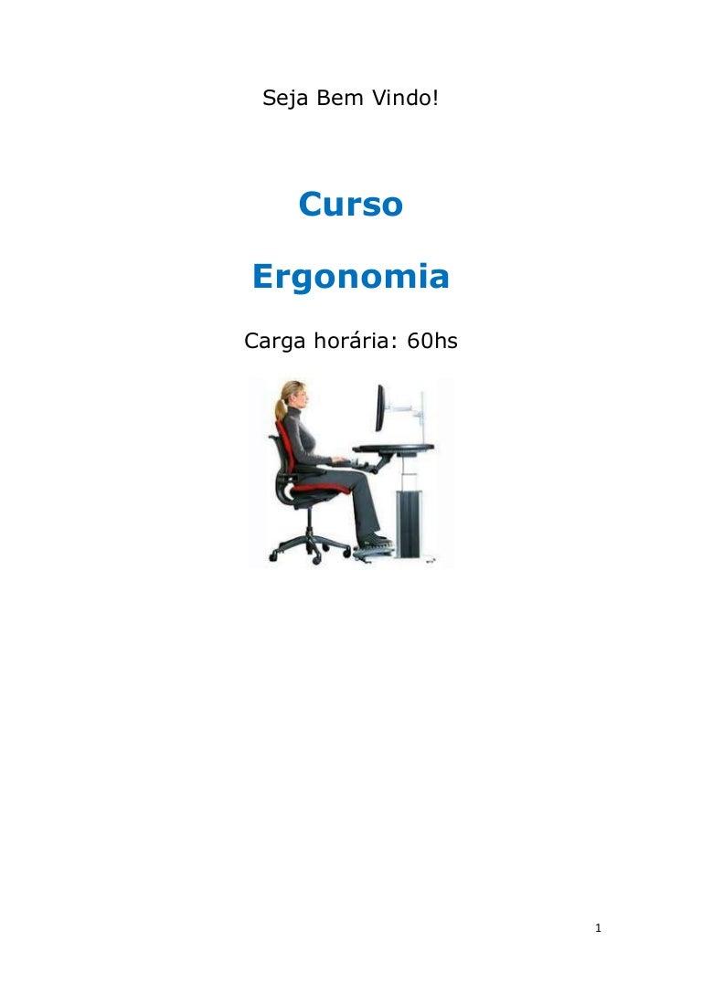 Curso Ergonomia