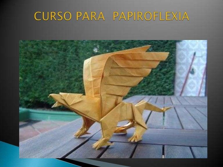 Curso para papiroflexia