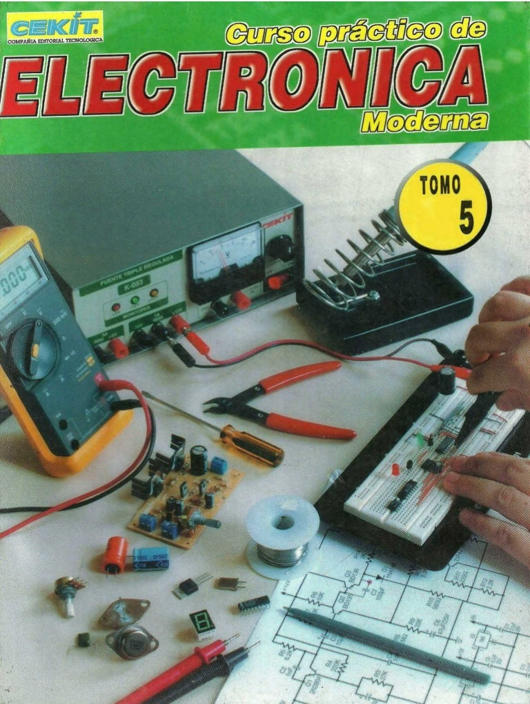 Curso Practico De Electronica Moderna Tomo 5 Cekit