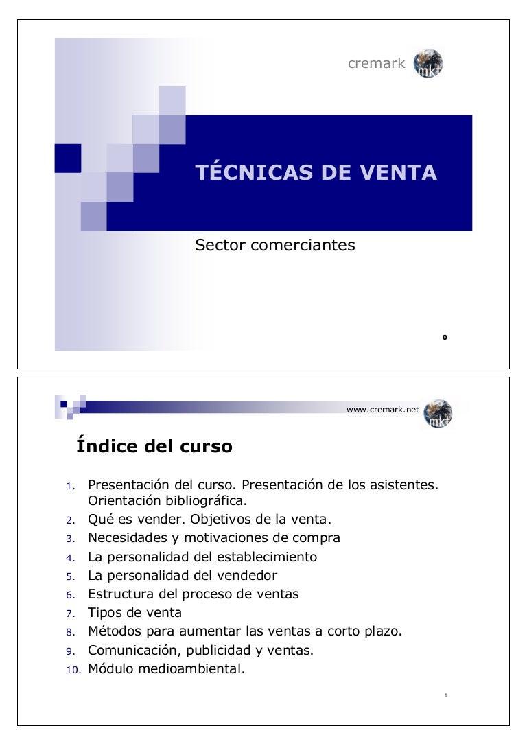 Curso Marketing y Técnicas de Ventas para Comerciantes Minoristas