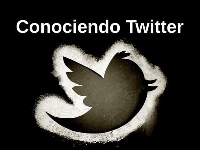 Conociendo Twitter. Curso básico sobre esta red social