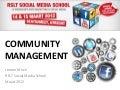 Workshop Community Management