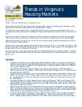 Trends in Virginia's Housing Markets - 1st Quarter 2010