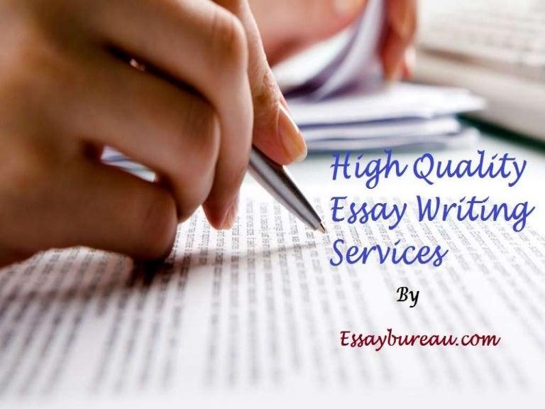 Custom essay services