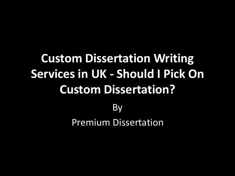 Custom dissertation writers