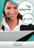 Customer Care, Online Business Courses, E-learning Pathway Courses, Pathway Group