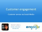 Customer engagement   why and how