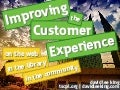 Customer Experience - On the Web, In the Library, In the Community