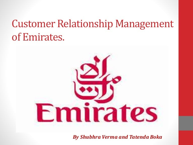 crm in emirates airlines