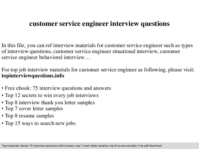Awesome Customer Service Engineer Cover Letter Gallery - Printable ...