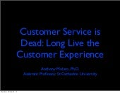Customer service is dead