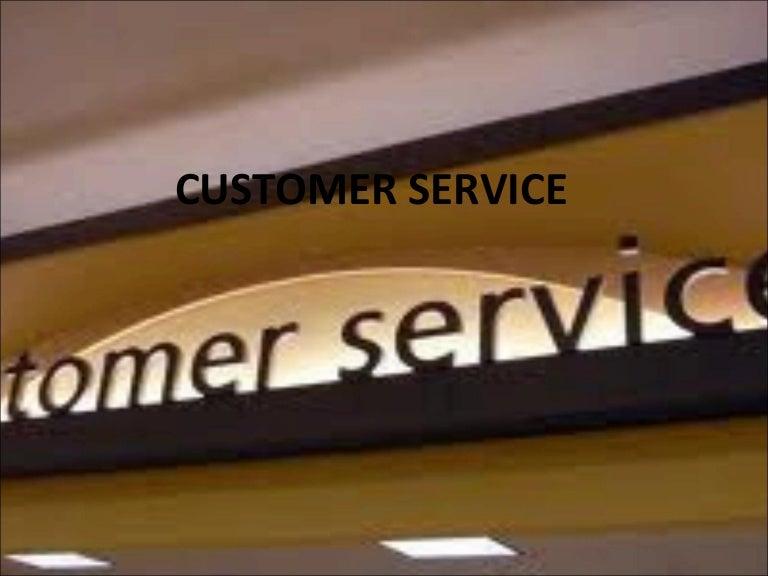 Customer service training eng