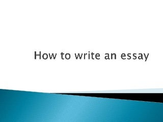 writing a college essay for admission