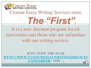 custom essay writing services reviews
