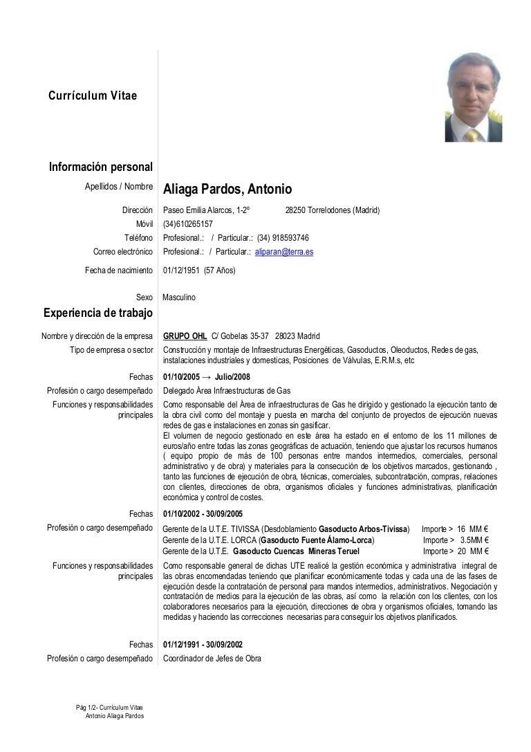 Atractivo Asistente Administrativo Ejemplos De Currículum Funcional ...