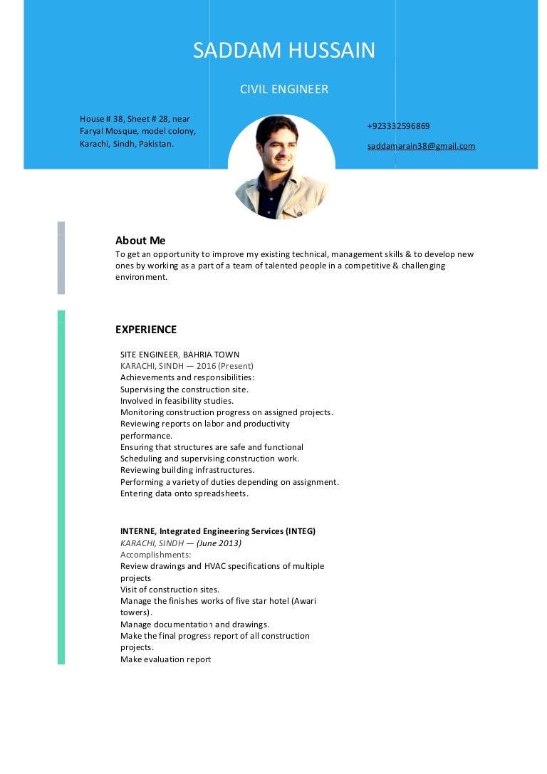 Cv Civil Civil Engineer In Diploma Cv In Bangladesh Perfect