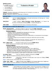 Cv Haykel Yousfi Cv In French Cv In English Version 17