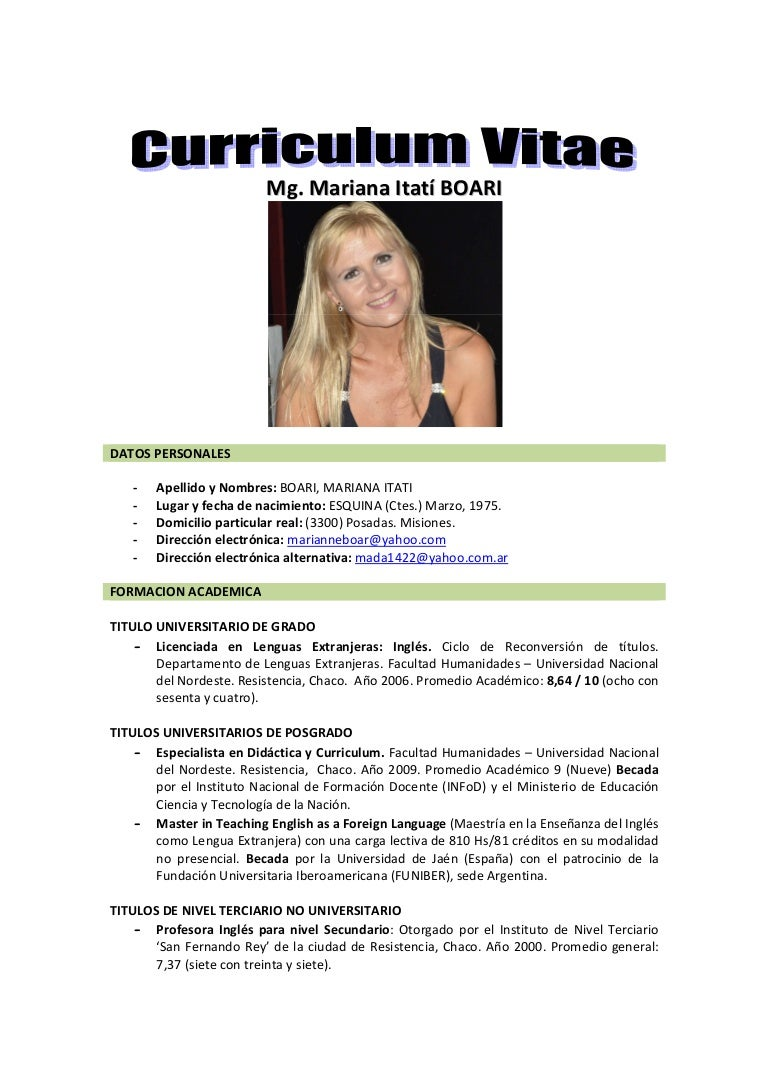 Moderno Currículum De Profesores De Inglés Modelo - Colección De ...