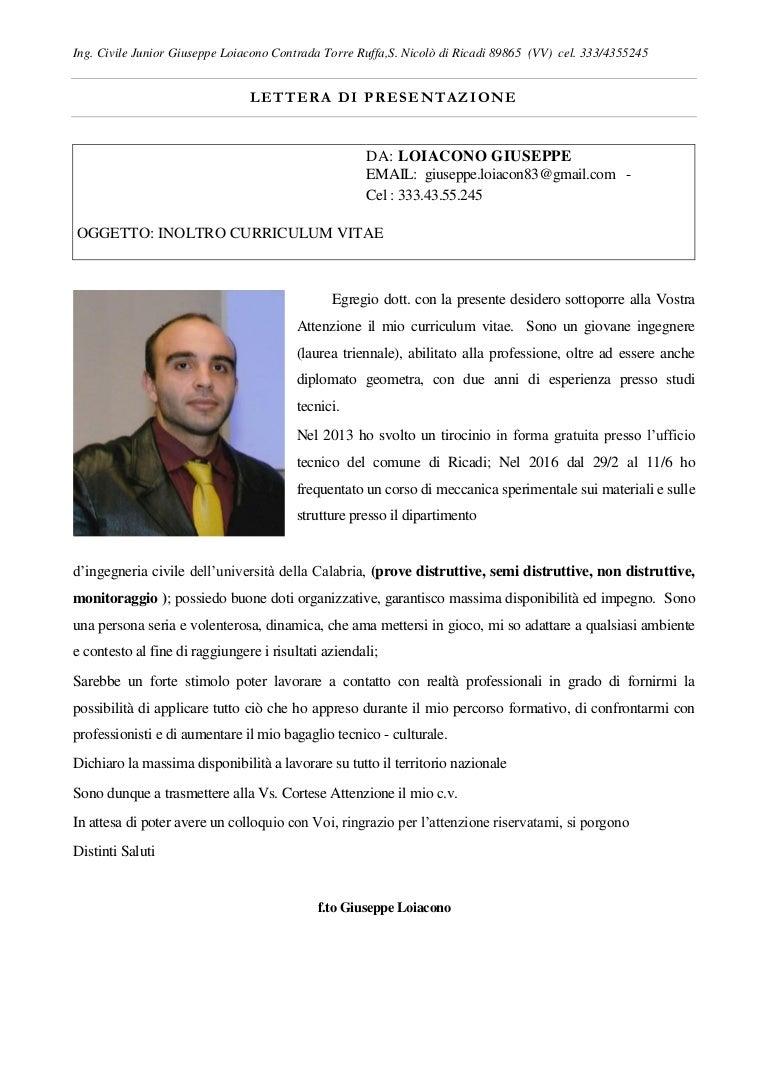 Cv 2016 Loiacono