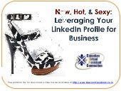 Linkedin: Leveraging Your Profile - CVAC - Canadian Virtual Assistant Connection