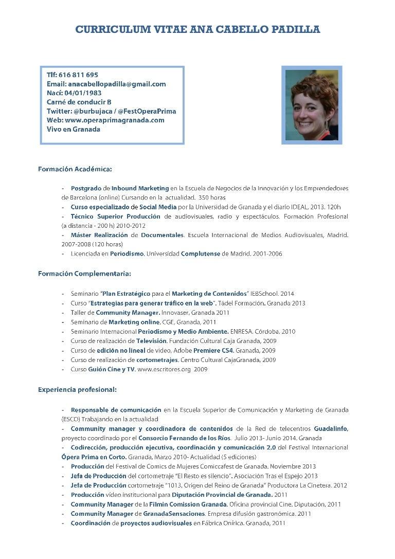 Hermosa Escritores De Curriculum Gratis En Línea Colección de ...