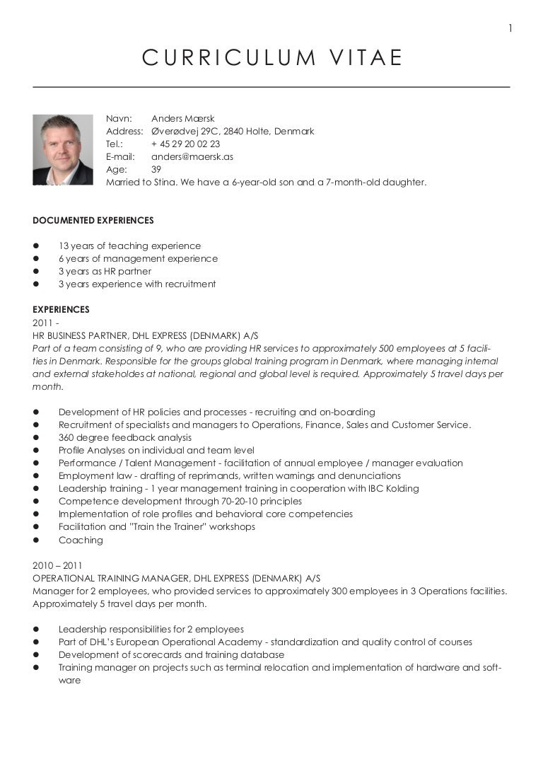 Fein Trainingsmanager Lebenslauf Pdf Galerie - Entry Level Resume ...