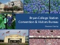 Bryan-College Station CVB Update