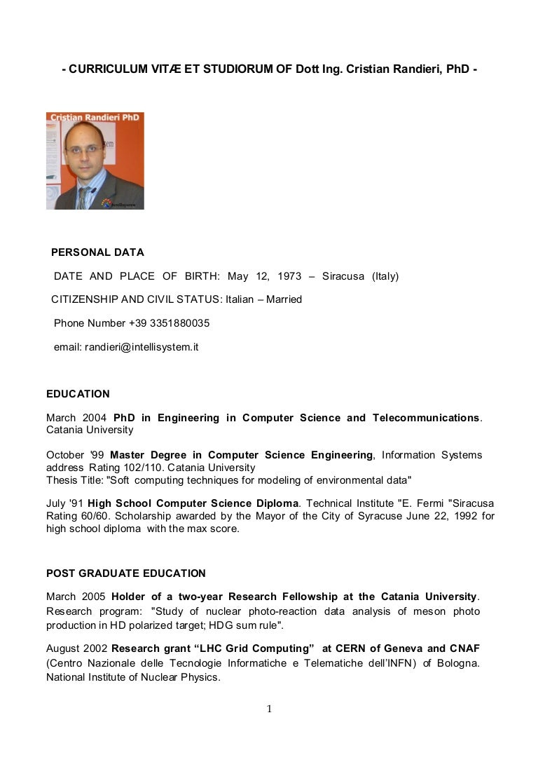 cvcristianranrien-151020133700-lva1-app6892-thumbnail-4 Sample Curriculum Vitae For English Teacher on offer letter, medical doctor, for professional contract, for administrative assistant, for accountant partner, science research, graduate school, for phd,
