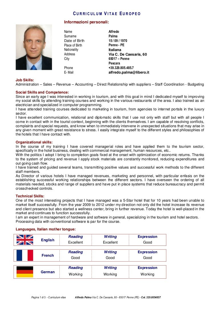 Cv English Curriculum Vitae Covering Letter Work Examples Infinity
