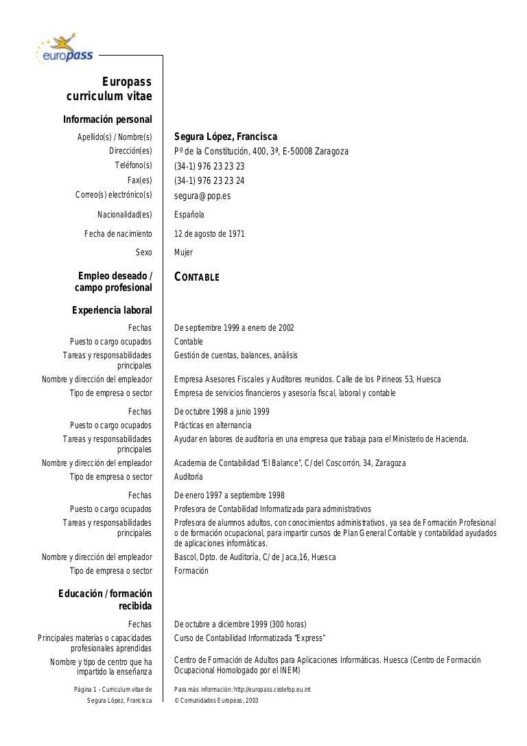 Moderno Cursos Relacionados En El Ejemplo Del Curriculum Vitae ...