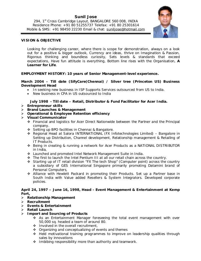 Legal Resume Format Indian Vosvetenet – Legal Resume Format