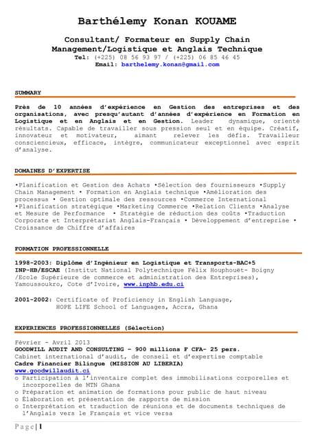 Cv Patricia Quist Consultant Formateur Freelance