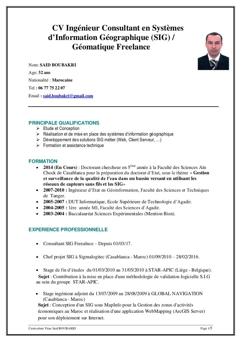 faire une reconversion professionnelle  cv type