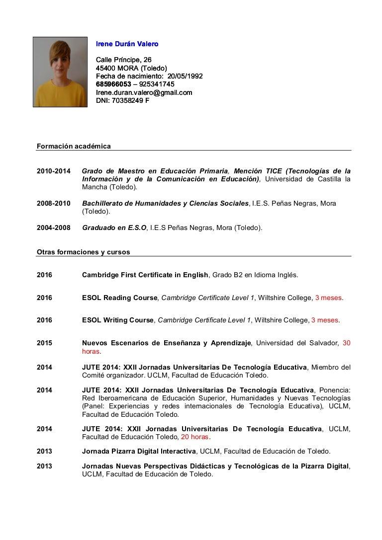 Moderno Maestro De Esl, Curriculum Vitae Motivo - Ejemplo De ...