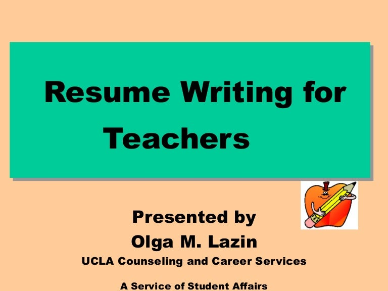 c v resume writing for lecturer