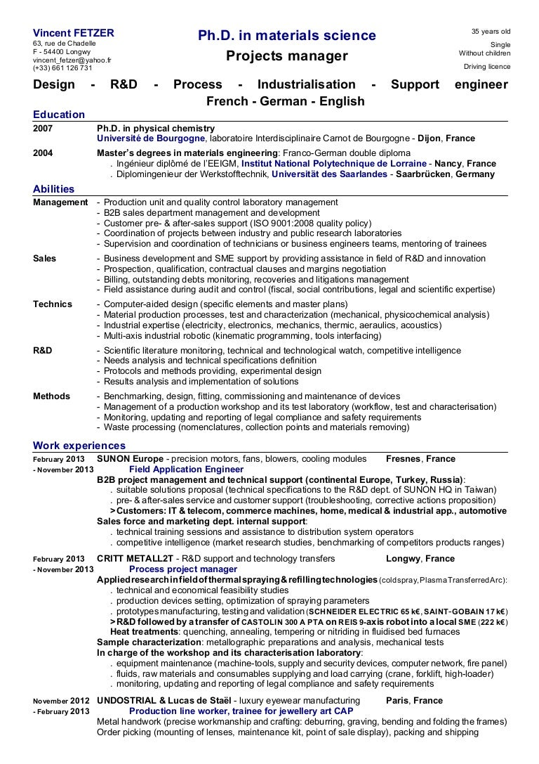 sample resume for mechanical production engineer materials engineer sample resumeml materials engineer sample resume electronic technician - Premier Field Engineer Sample Resume