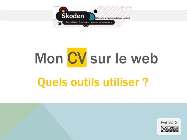 cv interactif en ligne Mon CV en ligne cv interactif en ligne