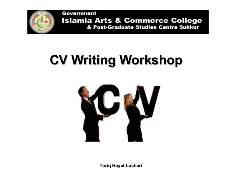 SlideShare  Resume Writing Workshop