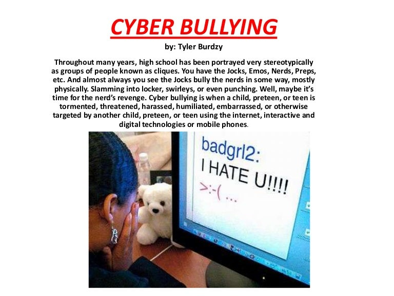 bullying essay example the introduction to cyber bullying media  bullying essays essays on bullying cover letter persuasive essay bullying thesis statement examples bullying essay