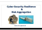 Cyber Security Resilience & Risk Aggregation