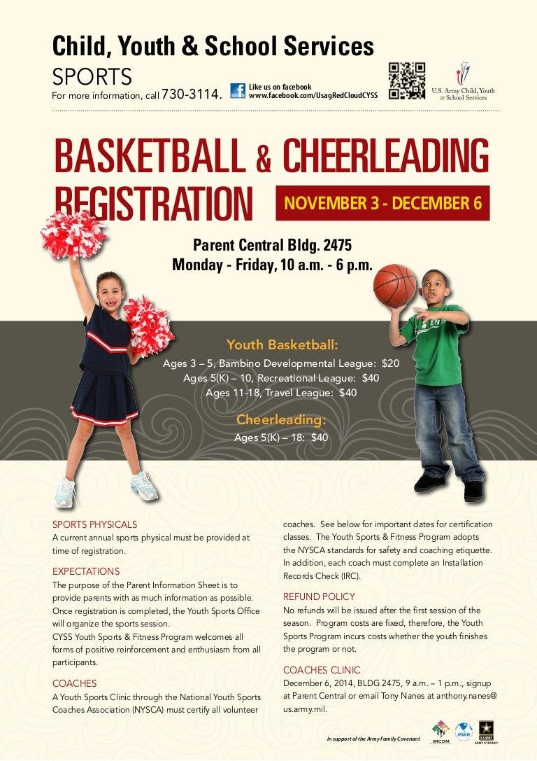 Cyss basketball cheerleading registration 1betcityfo Gallery